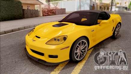 Chevrolet Corvette ZR1 C6 2009 для GTA San Andreas