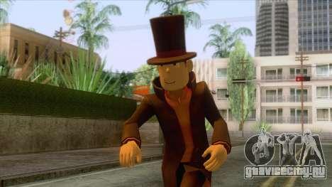 Prof Hershel Layton Skin для GTA San Andreas