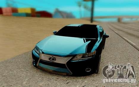 Lexus ES 2017 для GTA San Andreas