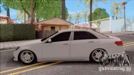 Mercedes-Benz E250 для GTA San Andreas вид слева