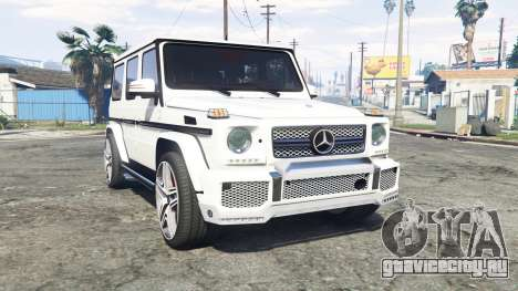 Mercedes-Benz G 65 AMG (W463) v1.1 [replace] для GTA 5