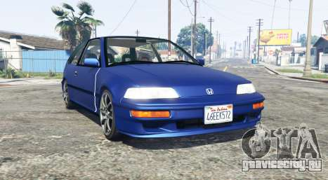 Honda Civic (EF) для GTA 5