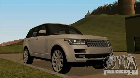 Land Rover Range Rover Vogue для GTA San Andreas