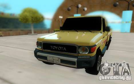 Toyota Land Cruiser Pickup для GTA San Andreas