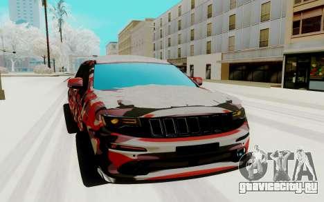 Jeep Cherokee SRT для GTA San Andreas