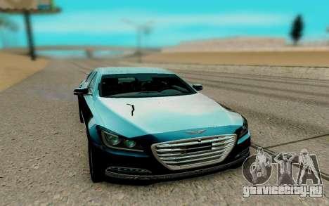 Hyundai Genesis G380 для GTA San Andreas