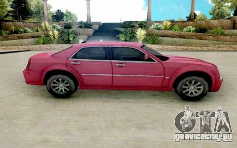 Chrysler 300C 2008 для GTA San Andreas вид слева