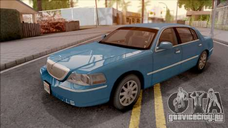 Lincoln Town Car L Signature 2010 HQLM для GTA San Andreas