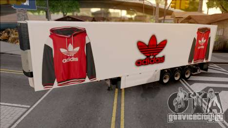 Remolque Adidas v.2 для GTA San Andreas