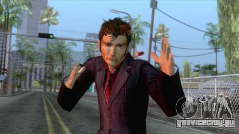 Doctor Who - Tenth Doctor Skin для GTA San Andreas