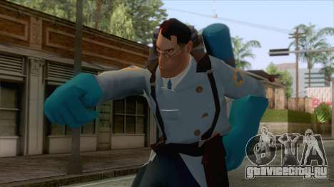 Team Fortress 2 - Medic Skin v1 для GTA San Andreas