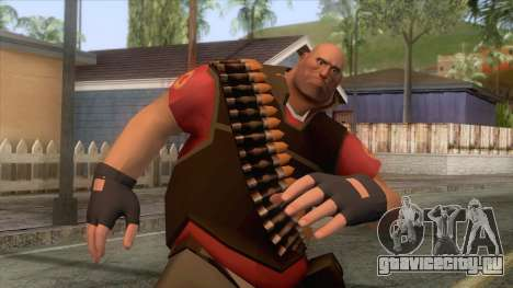 Team Fortress 2 - Heavy Skin v2 для GTA San Andreas