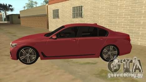 BMW 7-Series M Sport для GTA San Andreas