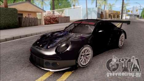 Porsche 911 RSR Itasha Neptunia Hyperdimension для GTA San Andreas