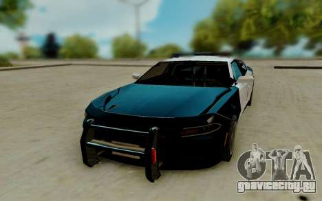 Dodge Charger SRT8 Hellcat 2015 для GTA San Andreas