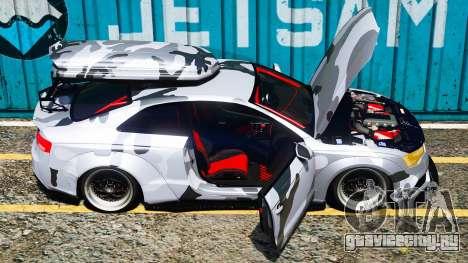 Audi RS5 Libertywalk для GTA 5 вид слева