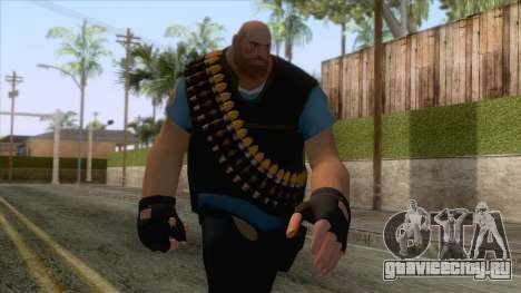 Team Fortress 2 - Heavy Skin v1 для GTA San Andreas