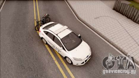 Ford Focus 2013 Community Service Officer для GTA San Andreas вид справа