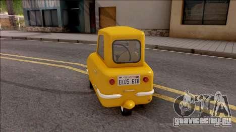 Peel P50 2011  v1.1 для GTA San Andreas вид сзади слева