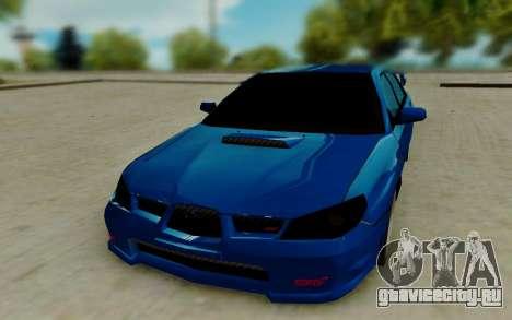 Subaru WRX STi 2005 для GTA San Andreas