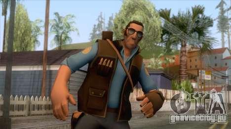 Team Fortress 2 - Sniper Skin v1 для GTA San Andreas