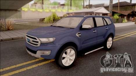 Ford Endeavour для GTA San Andreas