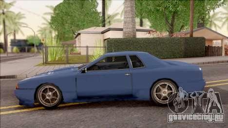 New Elegy Tunable для GTA San Andreas вид слева