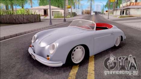 Porsche 356A 1956 для GTA San Andreas
