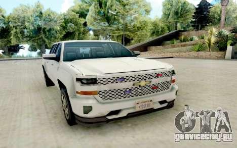 Chevrolet SIlverado 2017 Undercover Police для GTA San Andreas