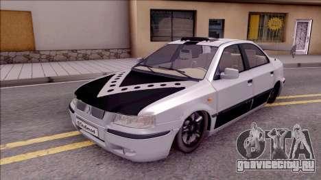 Iran Khodro Samand LX Full Sport для GTA San Andreas