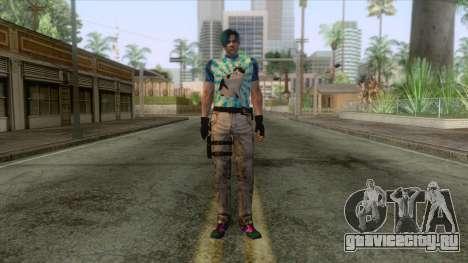 Leon Cat Lover Skin для GTA San Andreas