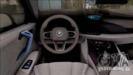 BMW i8 2017 для GTA San Andreas вид изнутри