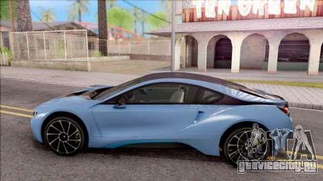 BMW i8 2017 для GTA San Andreas вид слева