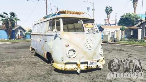 Volkswagen Typ 2 (T1) 1960 rat [replace] для GTA 5