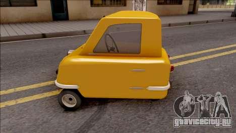 Peel P50 2011  v1.1 для GTA San Andreas вид слева
