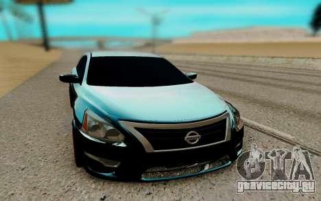 Nissan Teana 2017 для GTA San Andreas