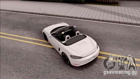 Porsche Boxter S 2017 для GTA San Andreas