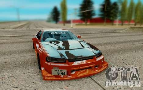 Nissan Skyline R34 Ura для GTA San Andreas