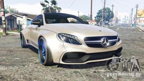 Mercedes-Benz C 63 S AMG widebody [add-on] для GTA 5