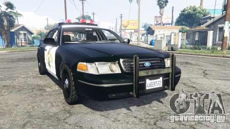 Ford Crown Victoria Highway Patrol [replace] для GTA 5