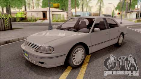 GTA IV Willard Solair Sedan для GTA San Andreas