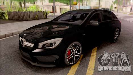 Mercedes-Benz CLA 45 AMG Shooting Breake v2 для GTA San Andreas