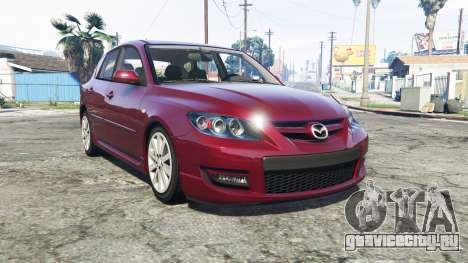 Mazdaspeed3 (BK2) 2009 [add-on] для GTA 5