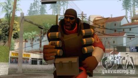 Team Fortress 2 - Demo Skin v2 для GTA San Andreas