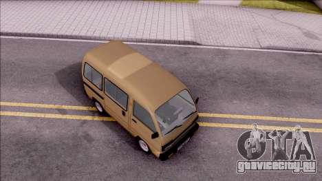 Daewoo Damas для GTA San Andreas вид справа