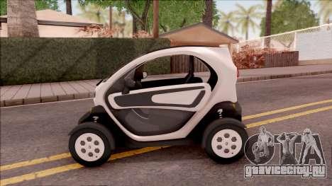 Renault Twizy 2012 для GTA San Andreas вид слева