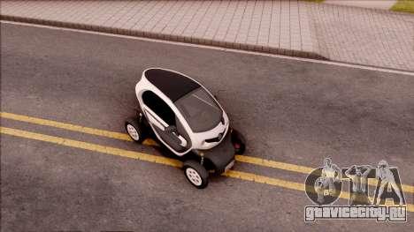 Renault Twizy 2012 для GTA San Andreas вид справа