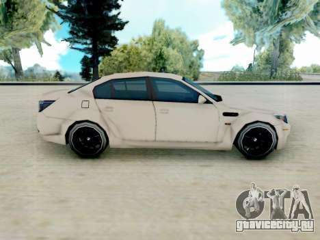 BMW M5 E60 Lumma Edition для GTA San Andreas вид слева