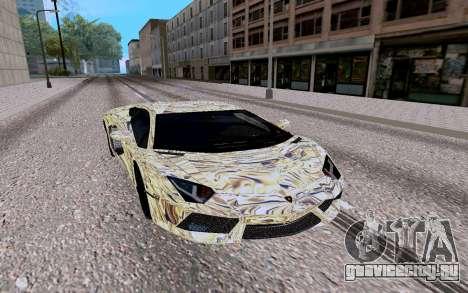 Lamborghini Aventador LP700 4 для GTA San Andreas