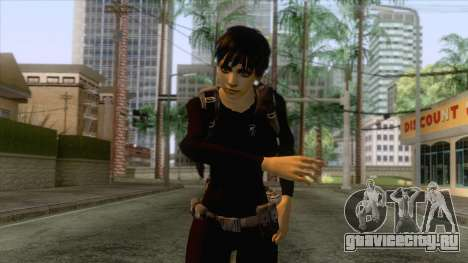 Rebecca Navy Seal Skin v1 для GTA San Andreas